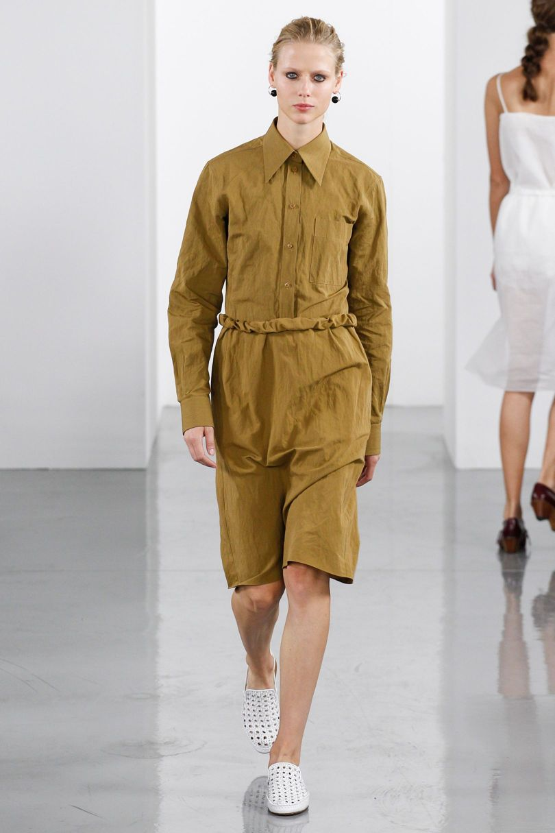 Ports1916 SS18 assisting Val Garland – LFW